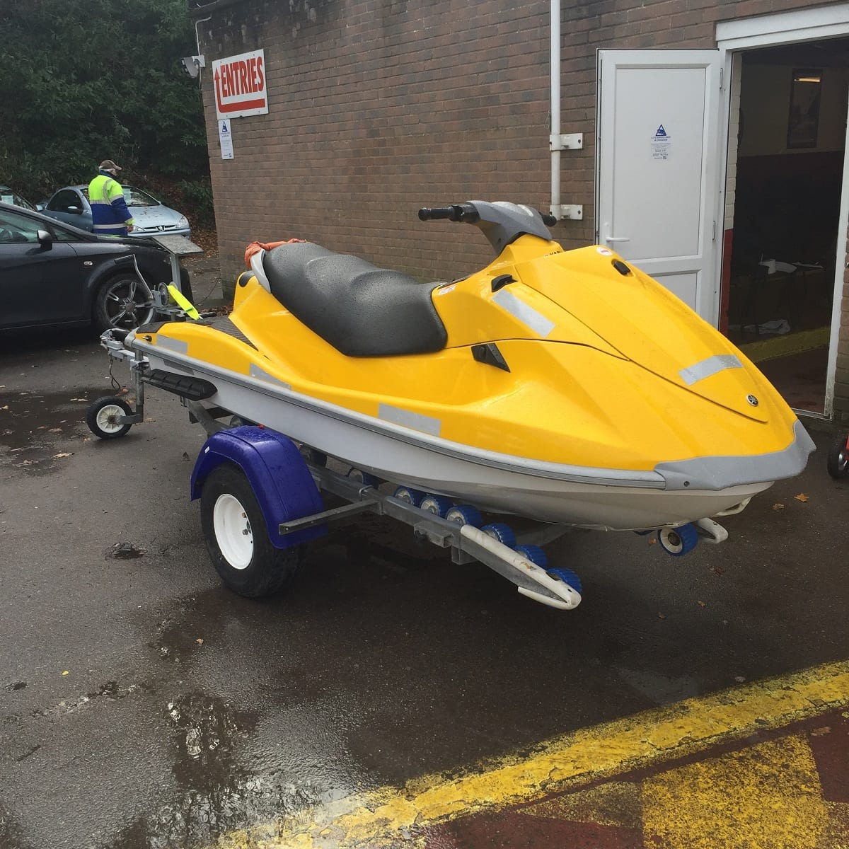 6 x jet skis direct from the rnli south western vehicle for Yamaha jet skis