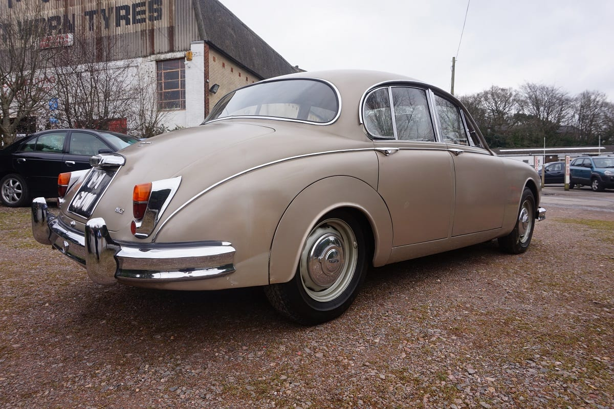 Car Buying App >> Jaguar MK2 3.4 1963 - South Western Vehicle Auctions Ltd